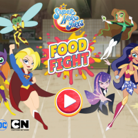 Dc Super Hero Girls Food Fight