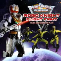 Power Rangers Robo Knight Flight Fight