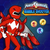 Power Rangers Bubble Shoot Puzzle