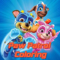 Paw Patrol Coloring